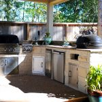 Custom Covered Outdoor Kitchen Patio 1