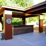 Custom Covered Outdoor Kitchen Patio 4