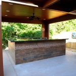 Custom Covered Outdoor Kitchen Patio 7