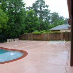 Custom Covered Outdoor Pool Patio Area