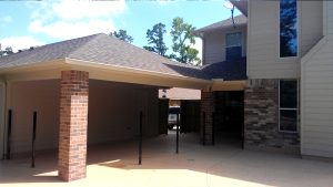 Custom Garage Carport Cover