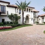 Custom Designed Home with Large Brick Driveway