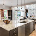 Kitchen in New Luxury Home with Open Floor Plan