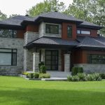 Custom Home Modern Design Exterior