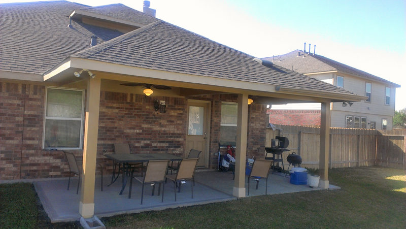 Tying a patio roof into existing house carpentry for Add on to house