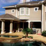 Custom Backyard with Pool