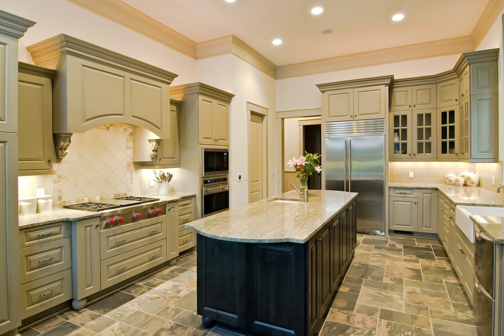 custom-green-kitchen