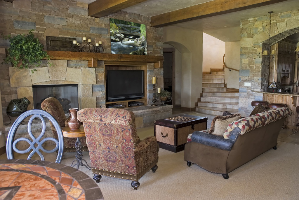 custom-stone-living-room