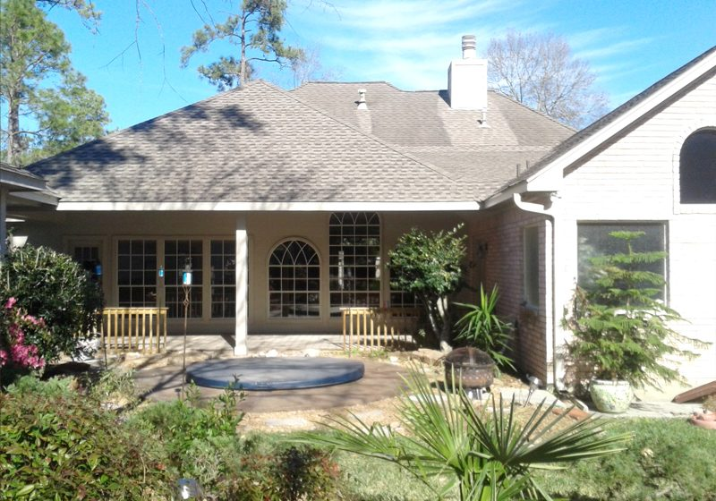 Patio covers contractor in houston katy huntsville for Custom home addition